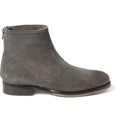 Jimmy Choo Greaves Suede Ankle Boots