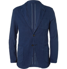 Aspesi Slim-Fit Unstructured Cotton Blazer