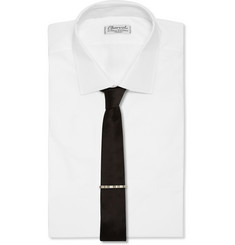 Paul Smith Shoes & Accessories Engraved Metal Tie Clip