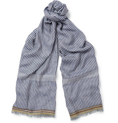 Paul Smith Shoes & Accessories Patterned Lightweight Scarf