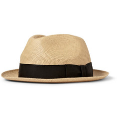 Paul Smith Shoes & Accessories Christys' Woven-Straw Trilby