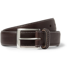 Paul Smith Shoes & Accessories Pin-Up Print-Lined Leather Belt