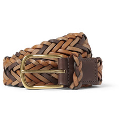 Paul Smith Shoes & Accessories Three-Tone 3cm Woven-Leather Belt