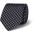 Paul Smith Shoes & Accessories Star-Patterned Woven-Silk Tie