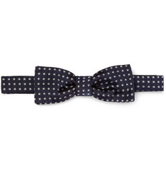 Paul Smith Shoes & Accessories Star-Patterned Silk Bow Tie
