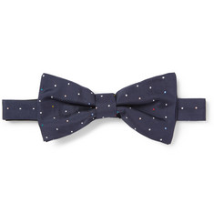 Paul Smith Shoes & Accessories Polka-Dot Silk Bow Tie