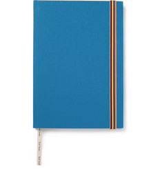 Paul Smith Shoes & Accessories Linen-Bound Hardcover Notebook