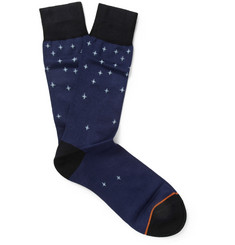 Paul Smith Shoes & Accessories Howling Dog Cotton-Blend Socks
