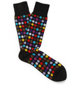 Paul Smith - Polka-Dot Cotton-Blend Socks