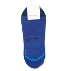Paul Smith Shoes & Accessories Invisible Cotton-Blend Socks