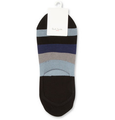 Paul Smith Shoes & Accessories Striped Mercerised Cotton-Blend Loafer Socks
