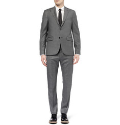 Acne Studios Grey Drifter Slim-Fit Wool Suit Jacket