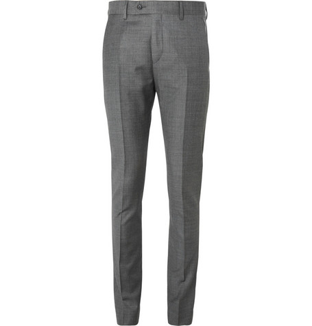 Acne Studios Grey Drifter Slim-Fit Wool Suit Trousers