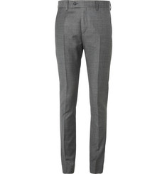 Acne Grey Drifter Slim-Fit Wool Suit Trousers