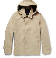Incotex Montedoro Waterproof Cotton Rain Jacket