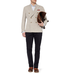 Incotex Montedoro Slim-Fit Linen and Cotton-Blend Blazer
