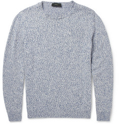 Incotex Knitted Cotton and Linen-Blend Sweater