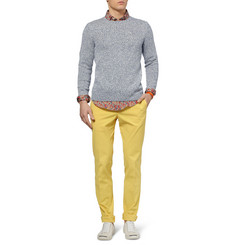 Slowear Knitted Cotton and Linen-Blend Sweater