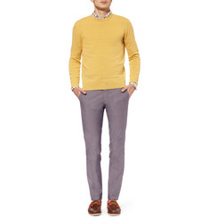 Incotex Zanone Knitted-Cotton Sweater