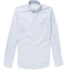 Incotex Glanshirt Slim-Fit Striped Cotton Shirt