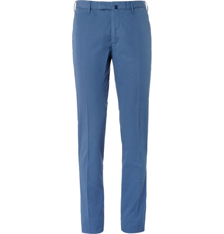 Incotex Slim-Fit Cotton Trousers
