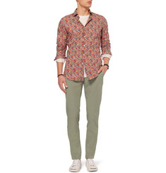Slowear Incotex Slim-Fit Cotton Trousers