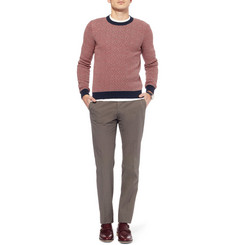 Incotex Slim-Fit Lightweight Cotton Trousers