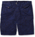 Incotex Printed Cotton Shorts