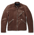 Acne Studios - Oliver Slim-Fit Leather Biker Jacket