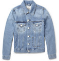 Acne Studios - Jam Slim-Fit Washed-Denim Jacket