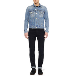 Acne Studios Jam Slim-Fit Washed-Denim Jacket