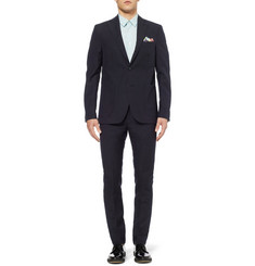 Acne Studios Drifter Slim-Fit Linen and Wool-Blend Blazer