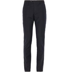 Acne Studios Drifter Slim-Fit Linen and Wool-Blend Trousers