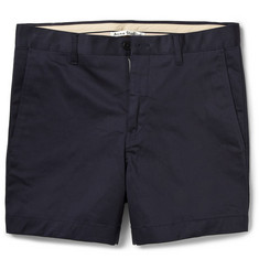 Acne Studios Seymour Slim-Fit Stretch-Cotton Shorts
