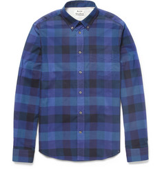 Acne Studios Isherwood Check Slim-Fit Cotton Shirt