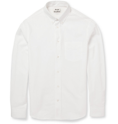Acne Studios Isherwood Slim-Fit Cotton Shirt
