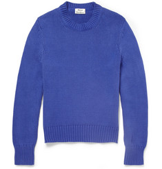 Acne Studios Chet Knitted-Cotton Sweater