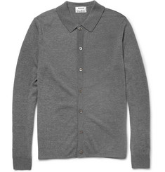 Acne Studios Clissold Fine-Knit Wool Polo Shirt