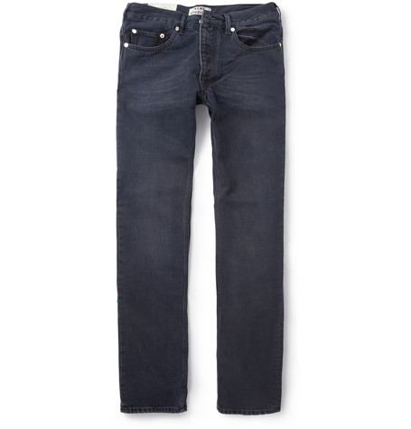 Acne Studios Roc Slim-Fit Washed-Denim Jeans
