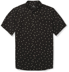 A.P.C. Printed Short-Sleeved Cotton Shirt