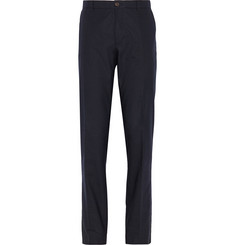 A.P.C. Slim-Fit Cotton-Blend Pinstripe Trousers