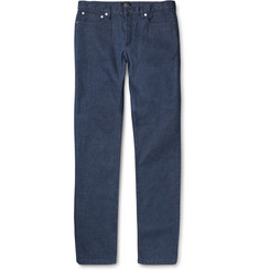 A.P.C. Petite Standard Slim-Fit Flecked Denim Jeans