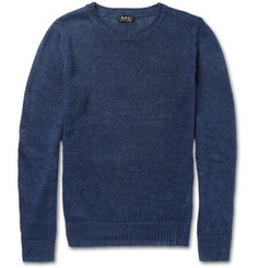 A.P.C. Knitted Linen Sweater