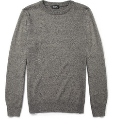A.P.C. Cotton and Silk-Blend Sweater