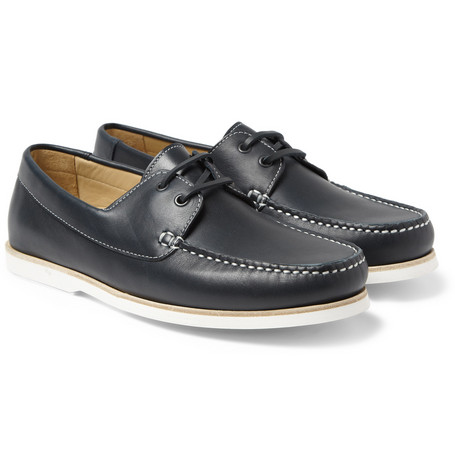 A.P.C. Leather Boat Shoes