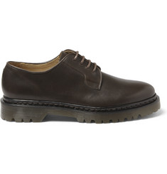 A.P.C. Rubber-Soled Leather Derby Shoes