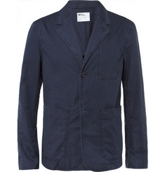 Margaret Howell MHL Unstructured Washed Cotton Blazer