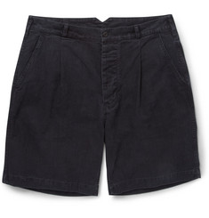 Margaret Howell MHL Regular-Fit Washed Cotton-Twill Shorts