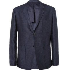 Margaret Howell Woven-Linen Suit Jacket
