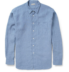 Margaret Howell Relaxed-Fit Washed-Linen Shirt